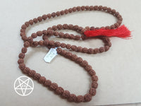 Genuine Rudraksha Beads Mala Necklace 108 Beads