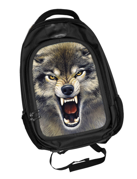 Wolf Backpack 3D Lenticular
