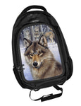 'Wolf Pack' Backpack 3D Lenticular