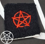 Pentagram Pentacle Wrist Sweatband