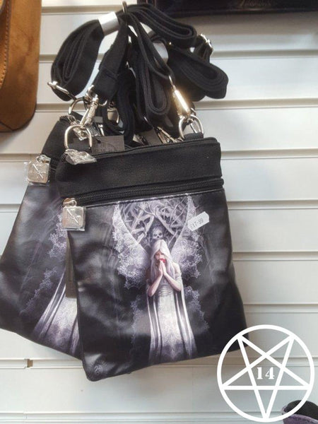 Only Love Remains Shoulder Bag Anne Stokes Design