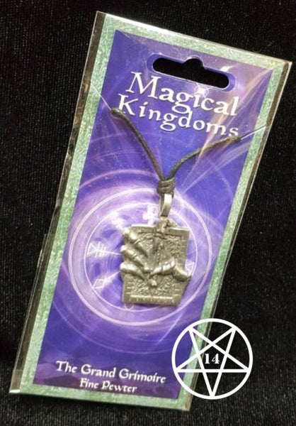 Magical Kingdoms The Grand Grimoire Pendant