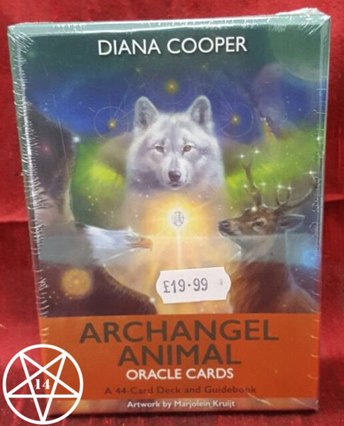 Archangel Animal Oracle Cards Deck
