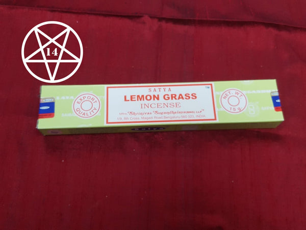 Satya Lemon Grass Incense Sticks
