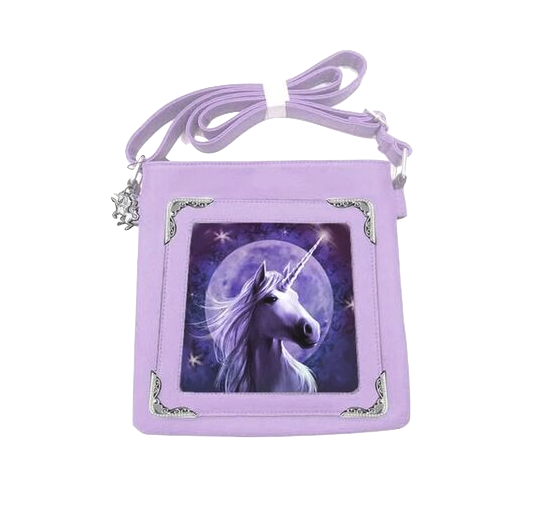 Anne Stokes Unicorn Range Starlight Side Bag