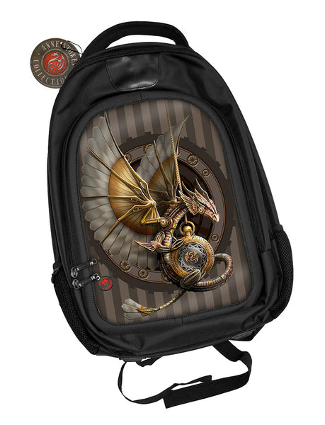 Clockwork Dragon Steampunk Backpack design by Anne Stokes