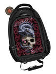 Oriental Dragon Skull Backpack design by Anne Stokes