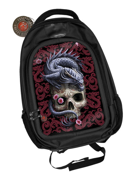 Oriental Dragon Skull Backpack