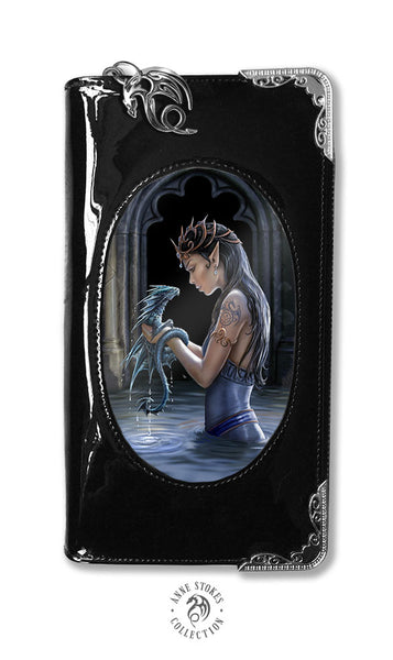 Water Dragon Purse 3D Lenticular design by Anne Stokes