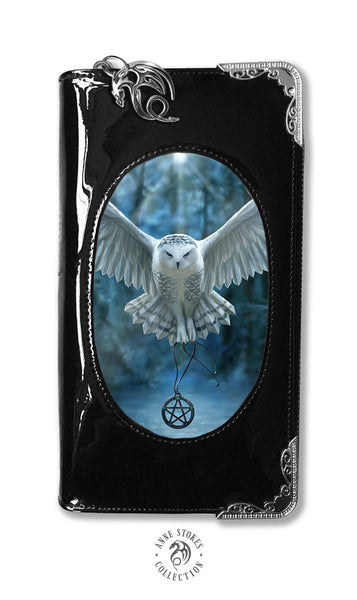 Awake Your Magic Owl Pentagram Purse 3D Lenticular design by Anne Stokes