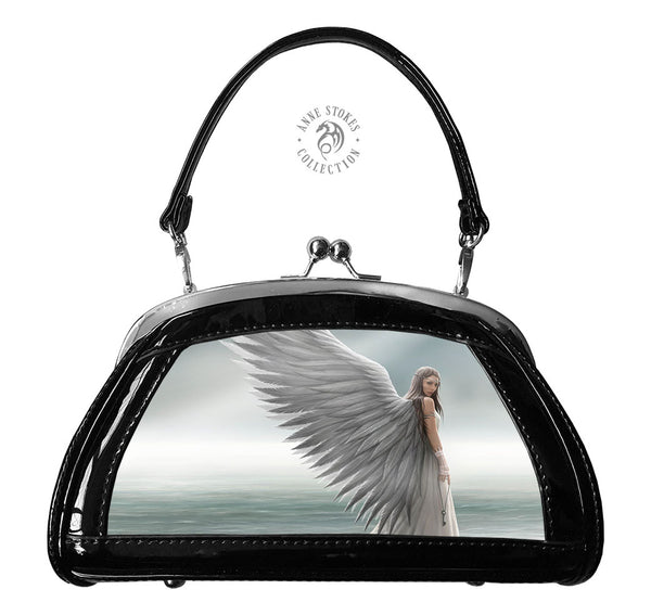 Spirit Guide 3D Lenticular Evening Bag Small design by Anne Stokes