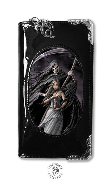 Summon The Reaper Purse design by Anne Stokes