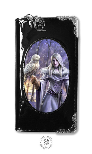 Winter Owl Purse design by Anne Stokes