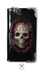 Oriental Skull Purse design by Anne Stokes