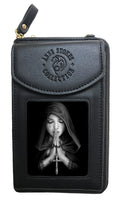 Anne Stokes Gothic Prayer Purse and Phone Holder Bag 3D Lenticular