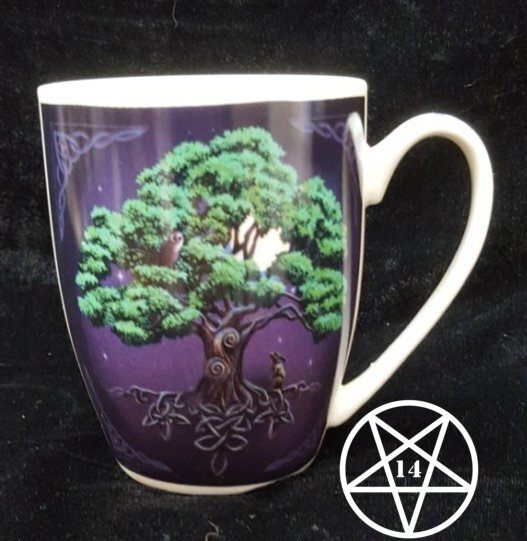 Tree of Life New Bone China Mug