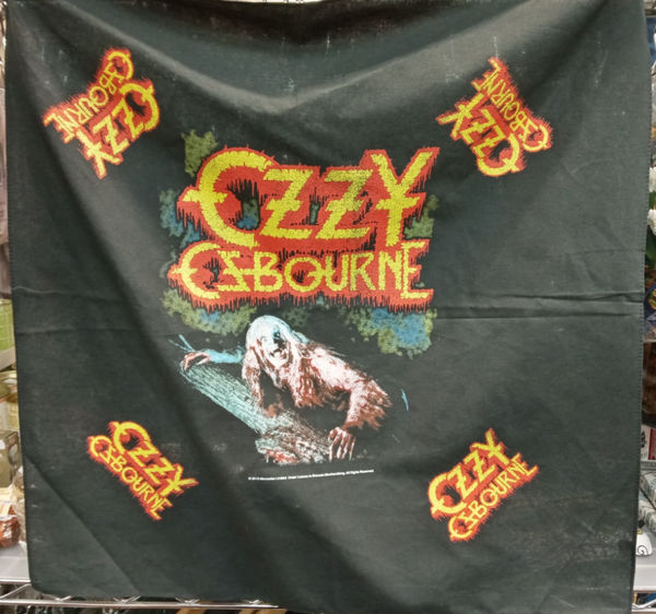 OZZY OSBOURNE BAND UNISEX BANDANA: BARK AT THE MOON
