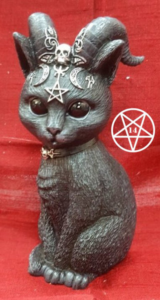 Cult Cuties Pawzuph Horned Occult Cat Figurine 11cm
