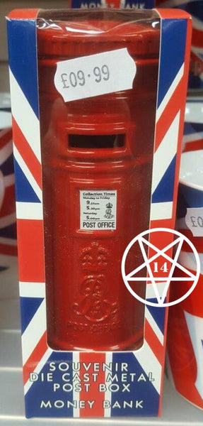 Die Cast Metal Post Box Moneybox