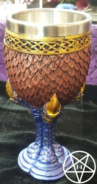 Ruby Scale Dragon Claw Goblet 16.7cm