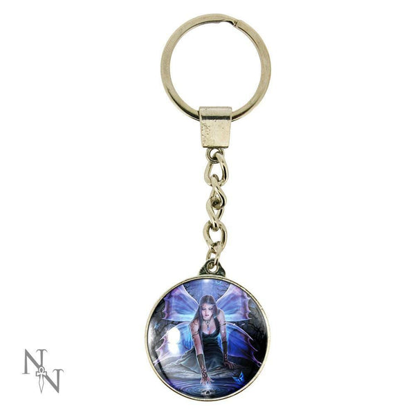IMMORTAL FLIGHT FAIRY KEYRING DESIGN BY ANNE STOKES