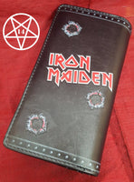 Officially Licensed Iron Maiden Band Eddie Trooper Embossed Purse