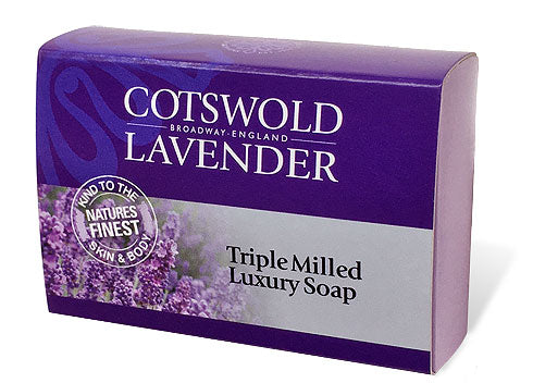 Triple Milled Luxury Lavender Soap 100g