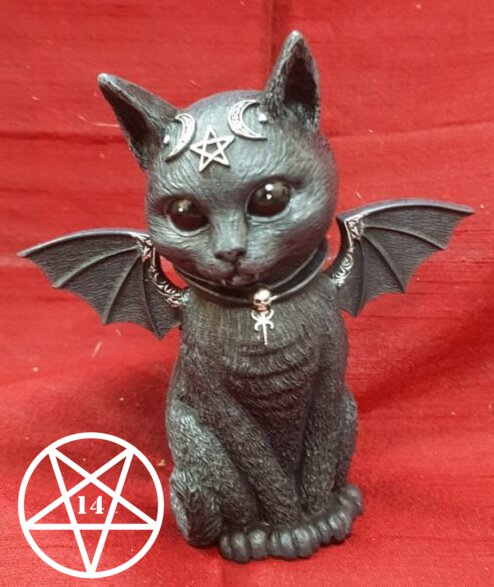 Cult Cuties Malpuss Winged Occult Cat Figurine 10cm
