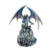 Azul Oracle Blue Dragon Fortune Seer Figurine 19cm