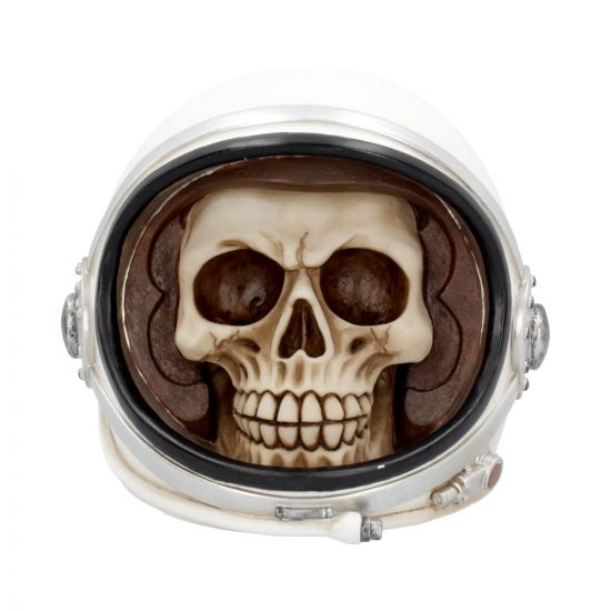 First Man Money Astronaut Skull Money Box 17.5cm