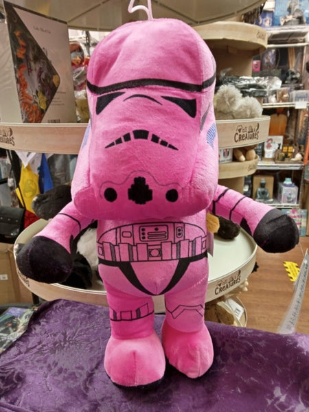 Stormtrooper Soft Toy Pink