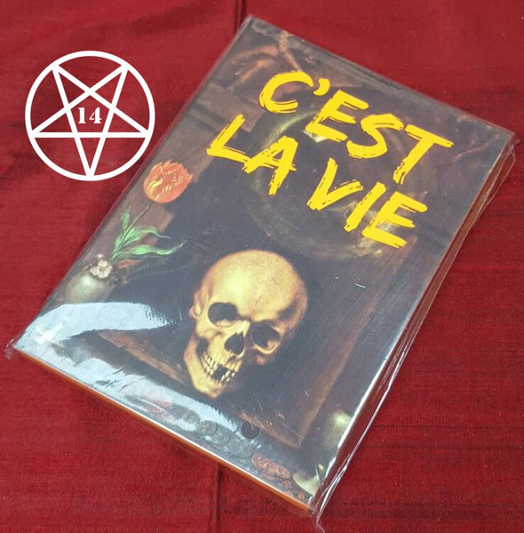 C'est La Vie Journal, Notebook, Skull Design