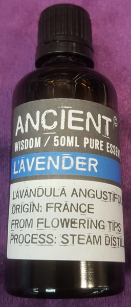 Lavender Essential Oil 50ml Bottle