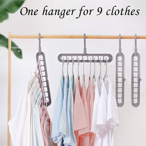 wall mounted clothes hanger