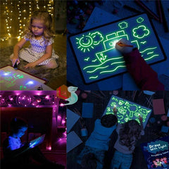 LIGHT DRAWING BOARD OR DRAW WITH LIGHT