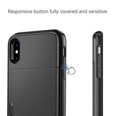 iphone xr case with card holder