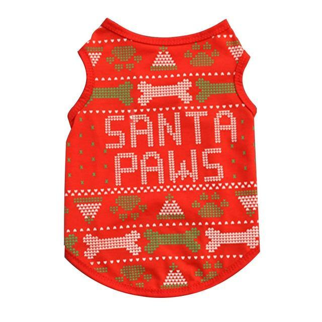 christmas clothes for dogs