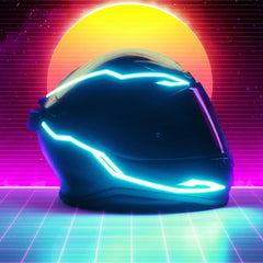 LED light Riding Signal Helmet