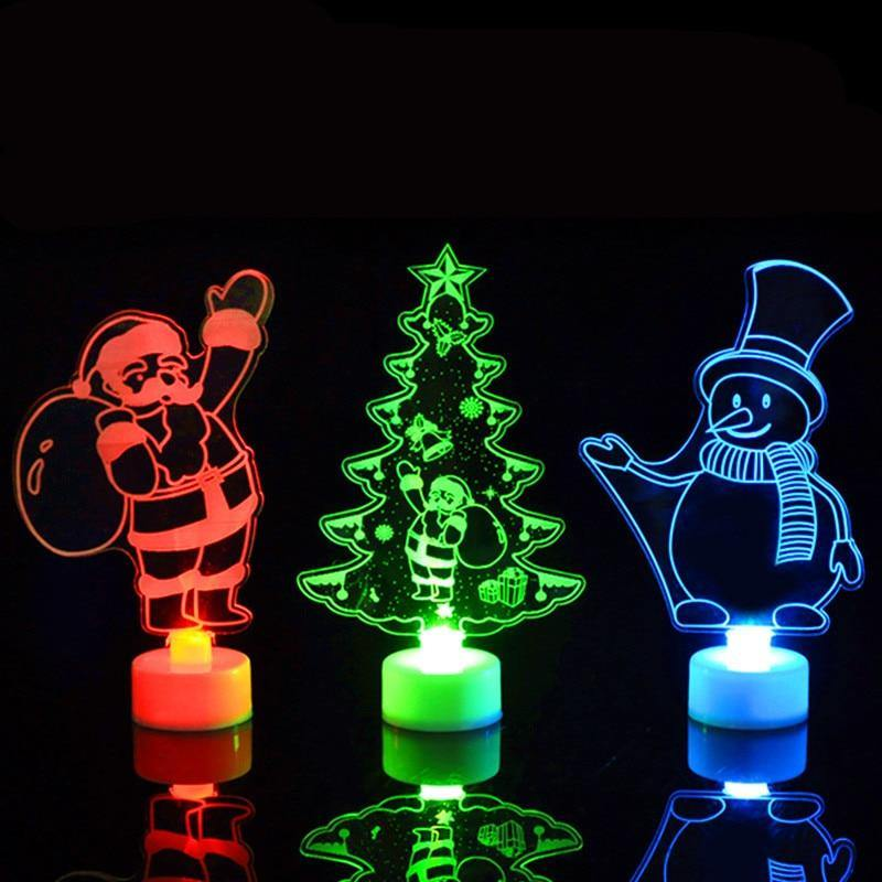 Christmas Tree Glowing Decor