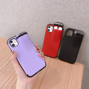 2-In-1 Iphone Airpod Case Red color