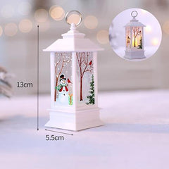 Christmas Candle With LED Light