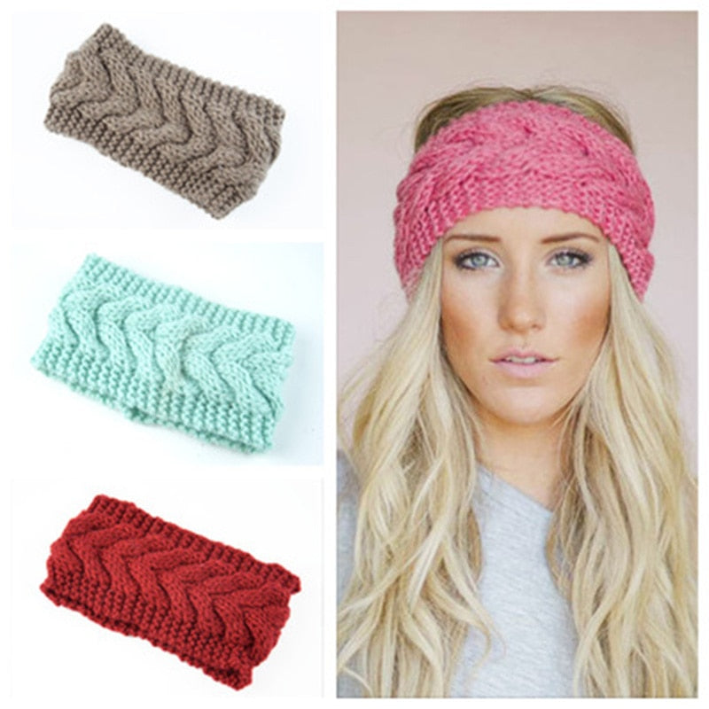 Winter Ear Knitted Headband