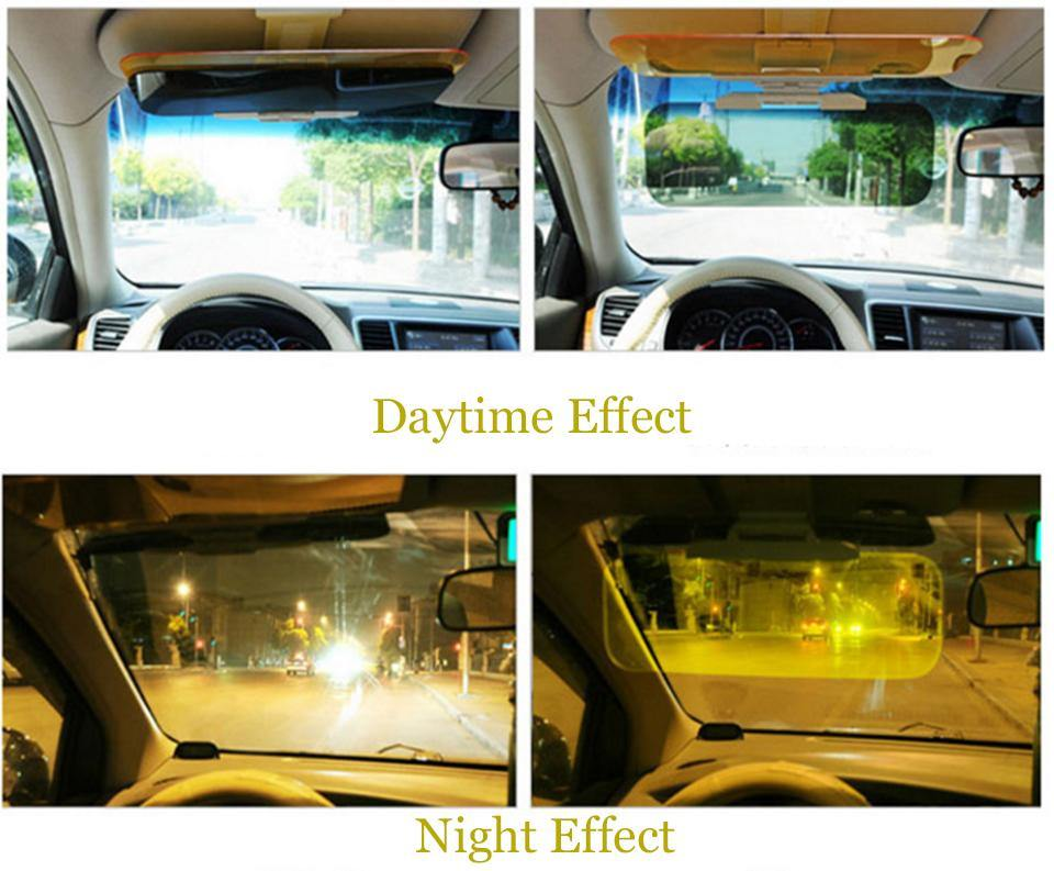 sun visor for car