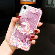 Anti-Knock Dynamic Quicksand Case For iPhone