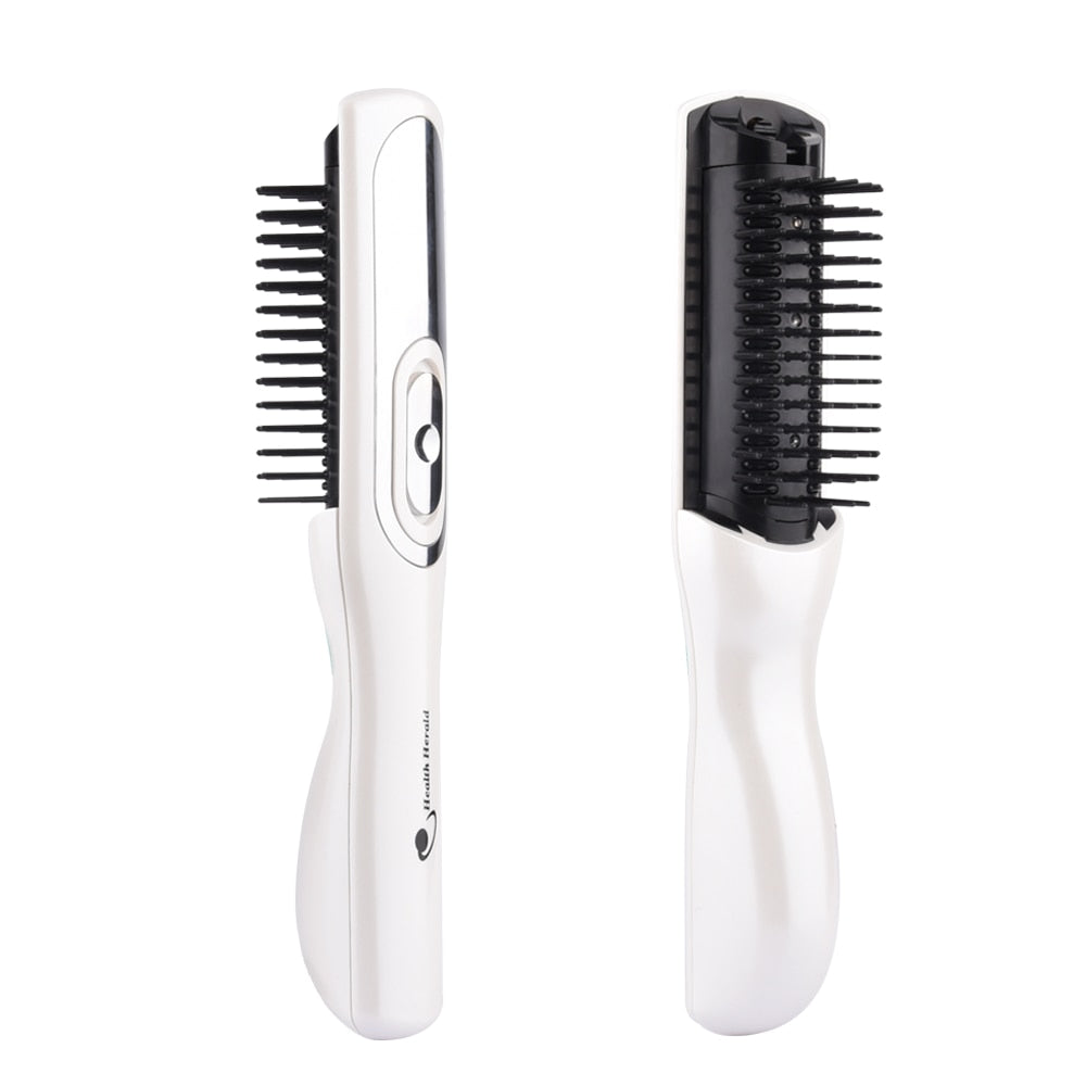 Laser infrared anti hair loss hair growth regrowth treatment massage comb