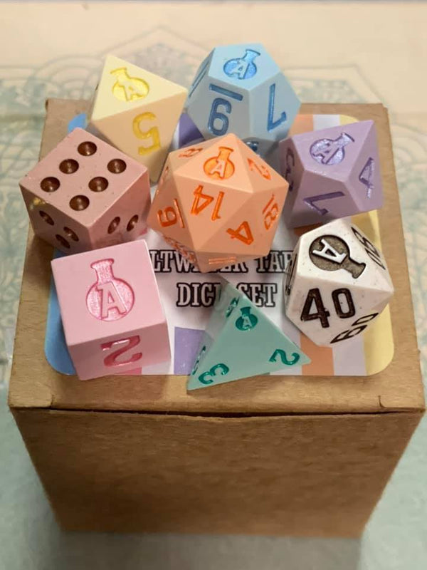 Salt Water Taffy 8 Pcs Dice Set