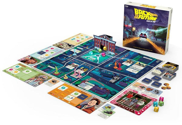 Back to the Future Back in Time Board Game