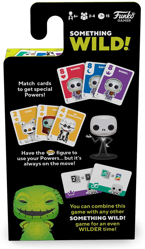 The Nightmare Before Christmas - Something Wild Card Game