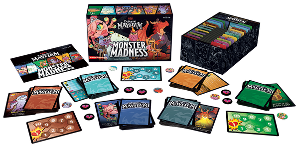 D&D Dungeon Mayhem Monster Madness Deluxe Expansion