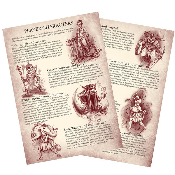 Goblins of Zarth 5e Module (PDF Version)